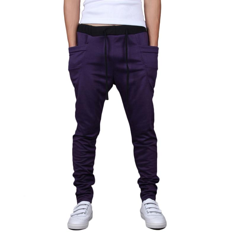 New Fashion Mens Joggers Harem Sweatpants Casual Slim Pants Sarouel Men Tracksuit Bottoms For Men Trousers Clothing