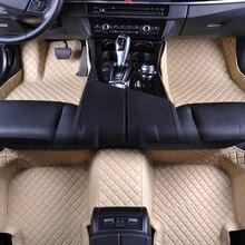 цена на Custom fit car floor mats for Mercedes Benz GLA CLA GLK GLC G ML GLE GL GLS A B C E S W204 W205 W211 W212 W221 W222 W176 liners