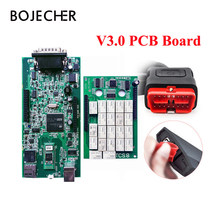 V3.0 Green PCB 2016.R0 with keygen Software New VCI TCS CDP Pro With Bluetooth Diagnostic Tool For Cars/Trucks +Carton box(China)