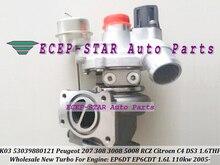 K03 0104 53039880104 53039700104 Turbo Turbocharger For Peugeot 207 308 3008 5008 RCZ For Citroen DS 3 C4 EP6DT EP6CDT 1.6L THP
