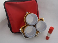 Triple Prism 0/ 30 mm Offset System with Bag for total station Survey