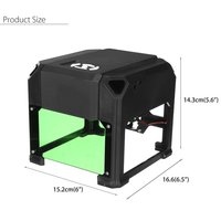 1500mW Engraving Laser Carving Machine USB Laser Engraver DIY Logo Mark Printer Cutter Carver Home Use