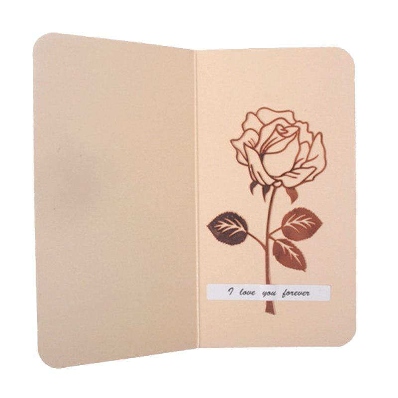 1 Set Luxury Metal Rose Flower Bookmarks & Greeting Cards Chancery School Office Accessories Tab For Books Stationery Items Gi Products Are Sold Without Limitations Labels, Indexes & Stamps