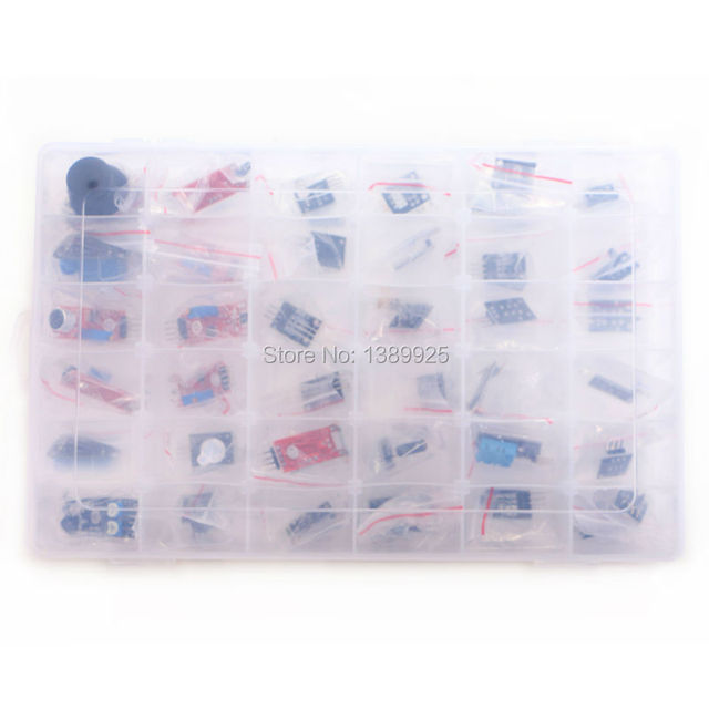 37 в 1 коробка Датчика Комплект Для Начала брендов на складе хорошее качество, низкая цена