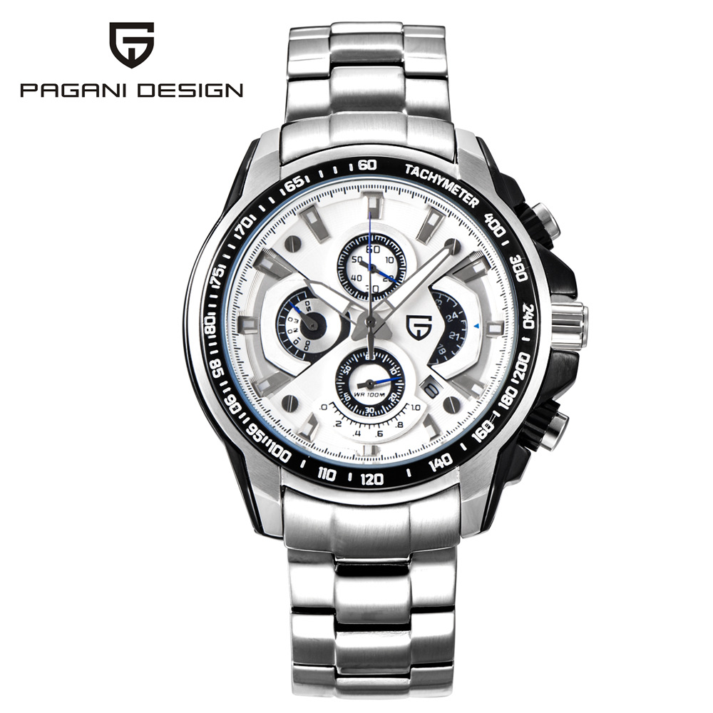 PAGANI DESIGN Busines Multifunction Mens Watches Top Brand Luxury Sport Waterproof Quartz Watch Men Military Male Clock Saat pagani design mens watch fashion luxury brand clock male casual sport wristwatch men pirate skull style quartz watch reloj hombe