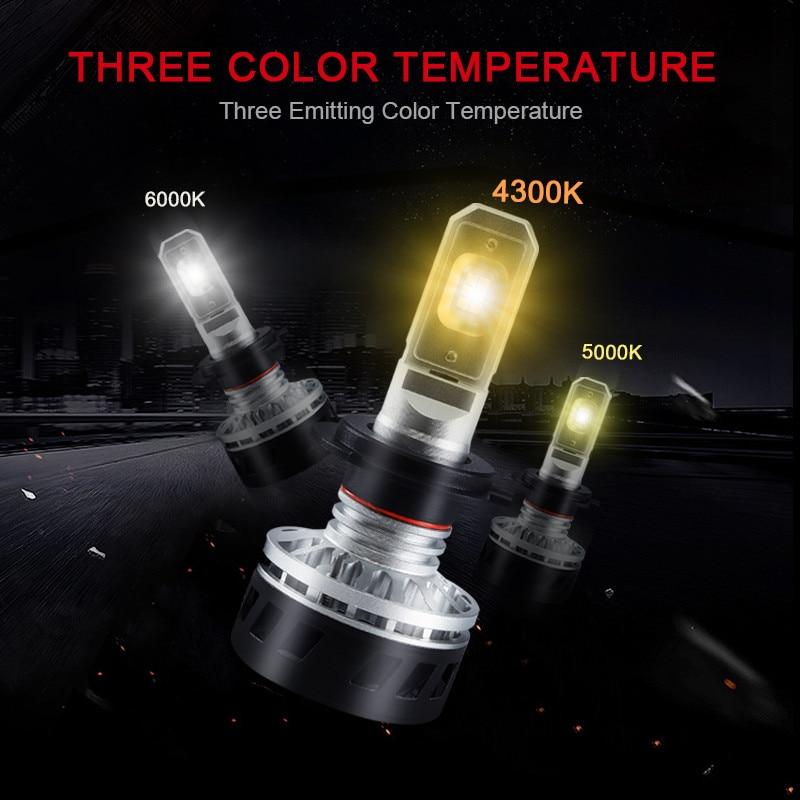 Headlight Bulbs h7 h11 h4 Car Lights LED 6000K 10000Lm ZES LED Lamp for Auto Headlamp Bulbs Lamps Car Light Accessories Styling h11 car lights led 6500k 6000lm zes headlight bulbs lamp for h11 h8 h9 auto headlamp bulbs lamps car light accessories styling