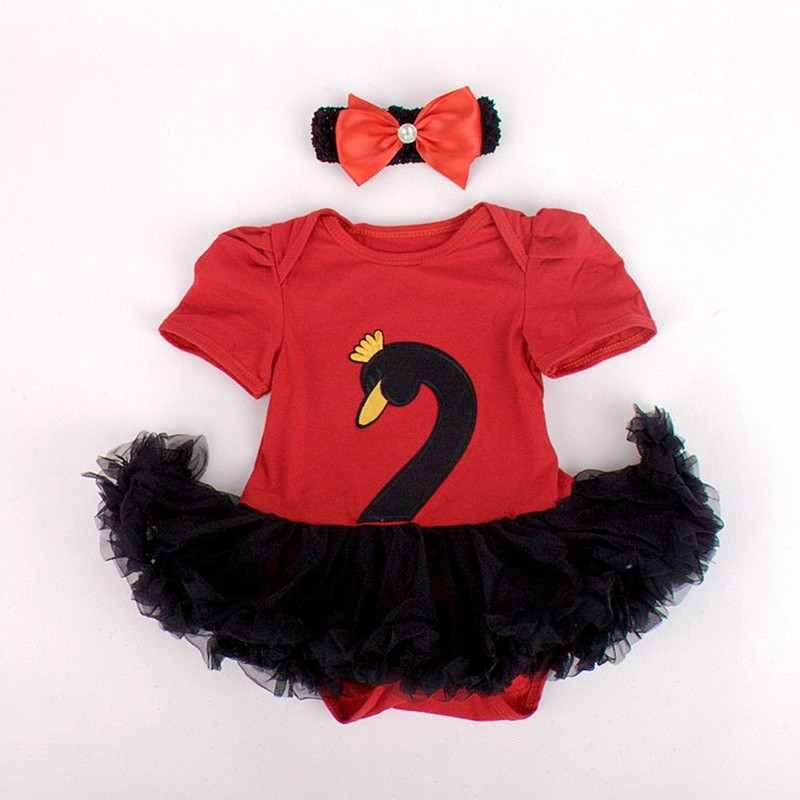 VD081-E-Animanl Baby Girl Dress