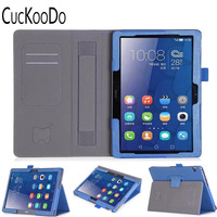 Premium PU Leather Case All Powerful Protective Stand Cover For Huawei MediaPad T3 10 0 Inch
