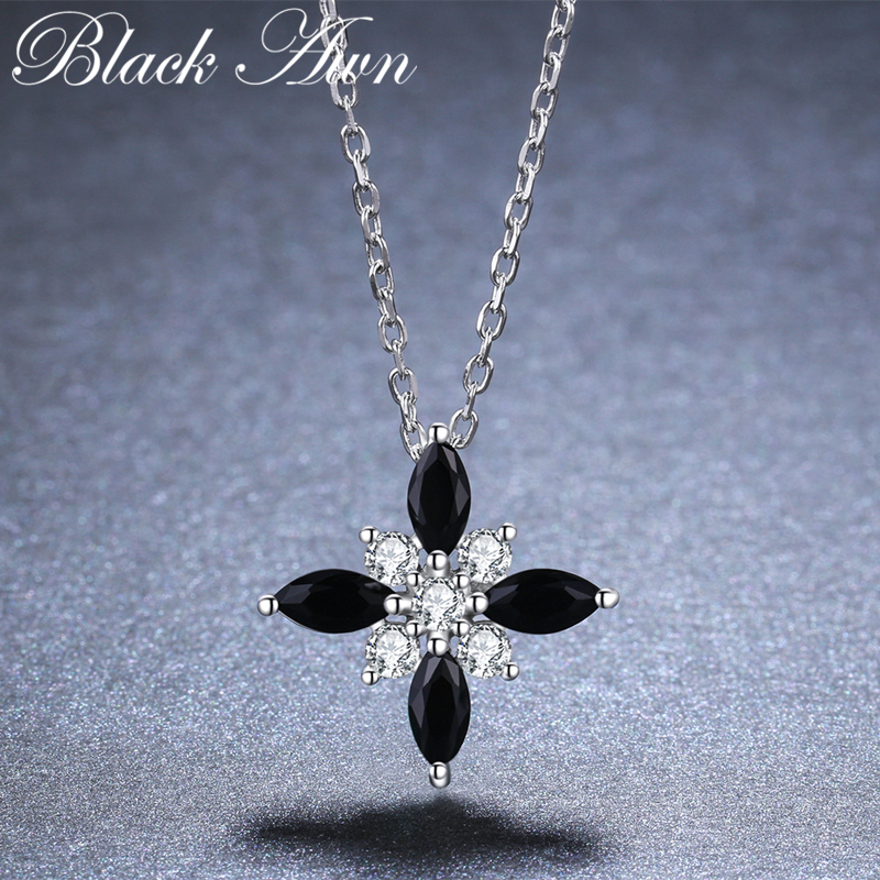 Romantic Arrive 925 Sterling Silver Fine Jewelry Trendy Flower Engagement necklaces & pendants for Women K004