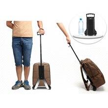 Alüminyum küçük sepeti taşınabilir katlanır bagaj arabası küçük römork mini el arabası alışveriş arabası