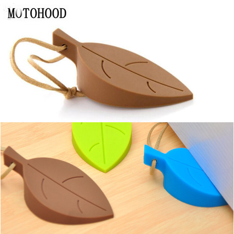 MOTOHOOD Silicone Door Gates Decorative Door Stopper Baby Safety Care Cartoon Kid Children Protection Edge & Corner Guards