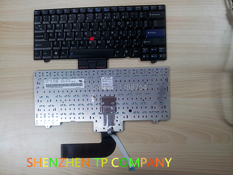 Genuine New Free Shipping For IBM Lenovo ThinkPad SL300 SL400 SL400C SL500 SL500C laptop US Black Keyboard 42T3833 42T3836 16ch 8poe nvr 7616ni se p original english version