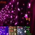 3.5m 100 SMD 100 Stars Multicolor LED String Strip Festival Holiday Light Christmas Wedding Decoracao Curtain lamp EU/US/UK/AU