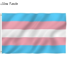 Rainbow Transgender Pride Flag Gay Lesbian LGBT 3×5 FT 90x150cm Polyester Colorful Rainbow Flag For Decoration Hot sale 2018