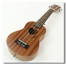 Soprano Ukulele 21 Inch Hawaiian Guitar 4 Strings Ukelele Love Heart-Shaped Guitarra Uke Mahogany Handcraft Musical Instruments