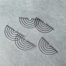 50 шт./упак. теплоизоляция протектор листа щит Деление шкалы Инструменты для укладки волос Круглый наконечник натуральные человеческие волосы для наращивания на заколках инструмент для салонов красоты
