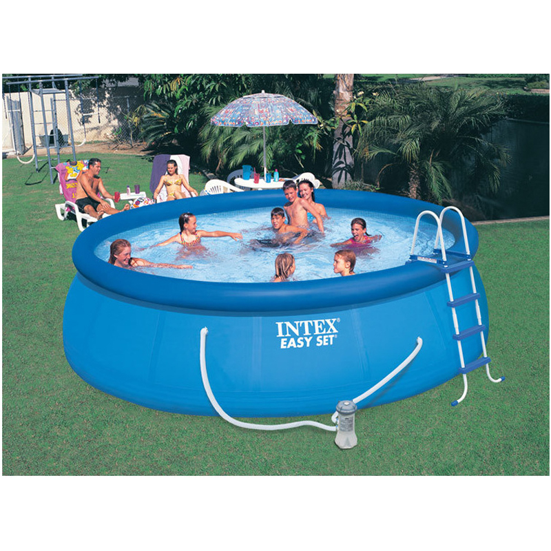 Intex 28164 56414 15 feet 15 39 piscina easy set pool 457 for Piscina intex