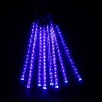 8pcs 30CM LED Holiday Light Christmas Meteor Shower Rain Tubes AC100 240V String Lights Wedding Garden