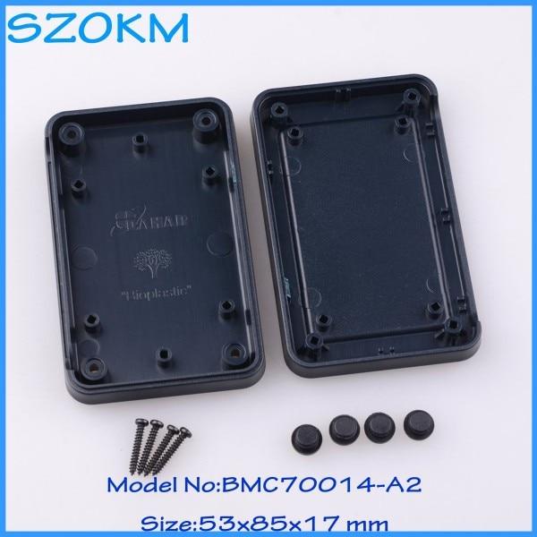 5 pcs lot plastic case electronics case for instrument electronic equipment cases 53 x 85x 17
