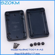 5 pcs/lot plastic case electronics case for instrument electronic equipment cases 53 x 85x 17 mm
