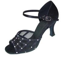 HXYOO Women Dance Shoes for Latin Ballroom Salsa GM039