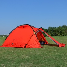 Professional tent 2 person ultra-light four seasons coated with silicon resistant to heavy rain mountain camping tents