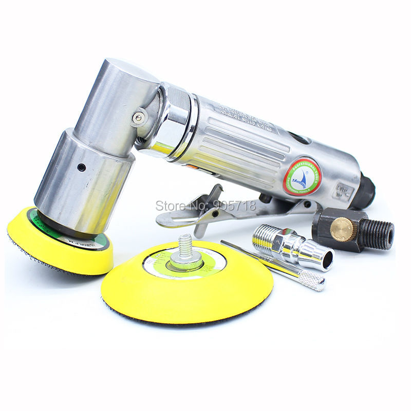 2 & 3 Inches Pneumatic Air Polisher Sander Eccentric Polishing Machine Pneumatic Polisher Tool 5 inch 125mm pneumatic sanders pneumatic polishing machine air eccentric orbital sanders cars polishers air car tools