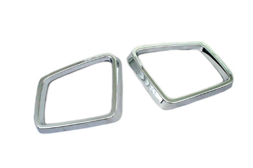 Car Chromium Styling Chrome Side Mirror Frame For Mercedes Benz X166 Gl Cl