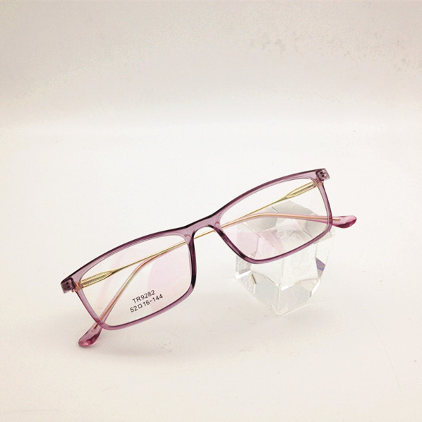 26805276a0 Eyesilove ultra-luz terminado miopía gafas mujer miope gafas TR90 ...