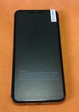Kullanılan orijinal LCD ekran + sayısallaştırıcı dokunmatik ekran + çerçeve için Umidigi bir Helio P23 Octa çekirdek ücretsiz kargo