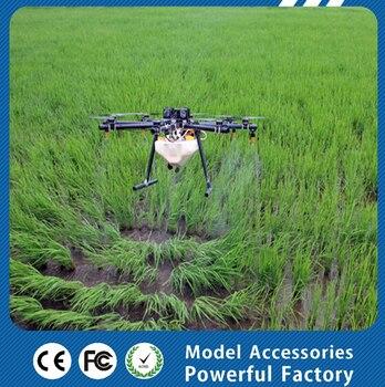 Landwirtschaftliche UAVs, Bauernhof Drone für Pflanzenschutz, Flugzeit 10-30 minuten Sechs achsen flugzeuge