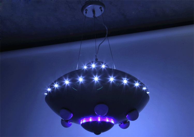 UFO ինքնաթիռի ջահ մանկական սենյակների - Ներքին լուսավորություն - Լուսանկար 6