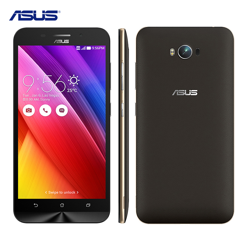 ASUS Zenfone Max ZC550KL Cell Phone 64Bit Snapdragon MSM8916 Quad Core 5.5'' Smartphone 2G RAM 16G ROM 5000mAh 4G Mobile Phone