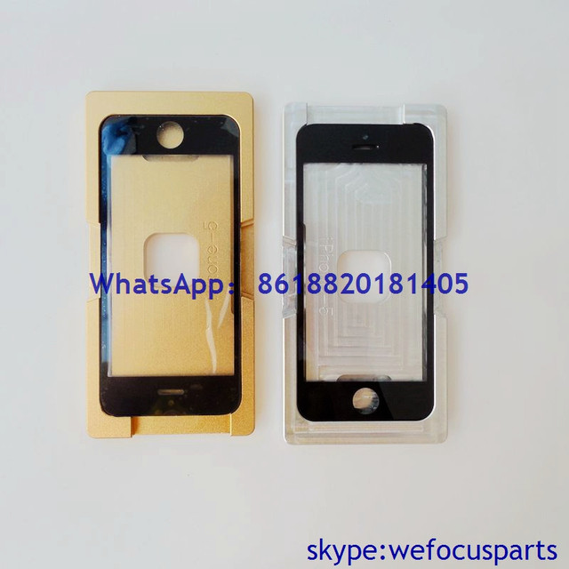 Refurbishment Laminating Glass with Frame Moulds Molds for iPhone 5 5G
