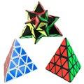 Lo nuevo de 4 Capas Pyraminx Pirámide Cubo Mágico Profesional Smooth Velocidad Cubo Cubo Mágico Puzzle Juego Juguete de Aprendizaje y Educación-48