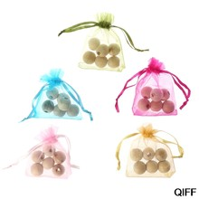 Wholesale 1Bag Cedar Wood Moth Balls Camphor Repellent Wardrobe Clothes Drawer Safety Bead May06(China)