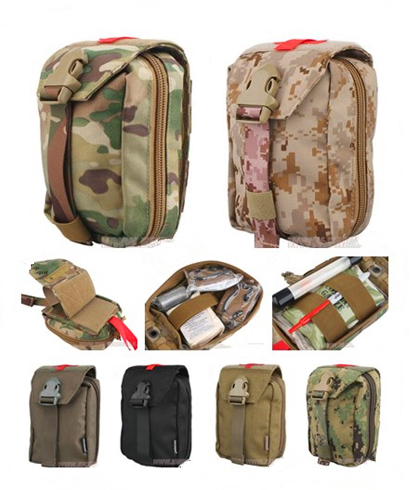 Emerson outdoor Pouches Military First Aid Kit Medic Pouch new Tactical pouch MOLLE military airsoft painball combat gear
