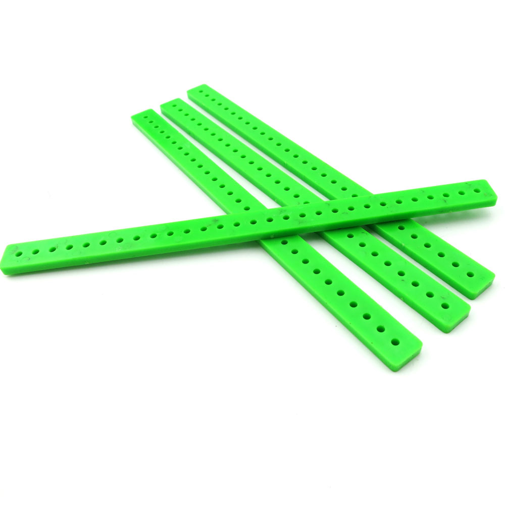 12pcs green bar/DY fight inserted blocks Model/construct material/creative educational toys/DIY model accessories/toy accessor