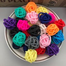 10pcs/lot, Polymer clay colorful irregular ball for  Micro landscape and home decoration,DIY (about 20mm)