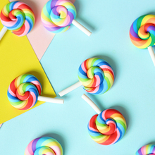 Mini Photography Props Colorful Cream Sugar Rainbow Lollipop INS Photo Studio Accessories DIY Decorations estudio fotografico цена
