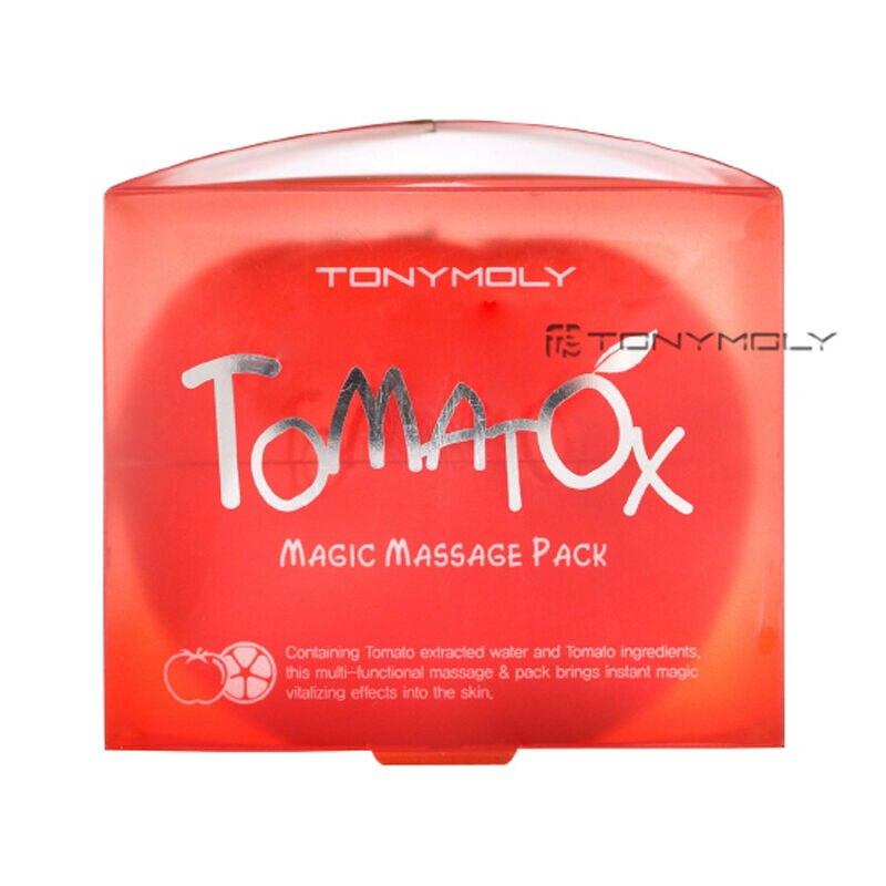 TONY MOLY Tomatox Magic Massage Pack 80g Whitening Face Mask Hydrating Anti Wrinkle Facial Exfoliator Korea Moisturizing Mask