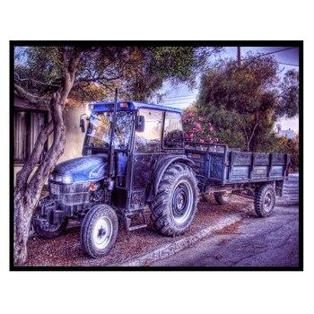 5d Diy Elmas Boyama çapraz Dikiş çiftlik Kamyon Ev Dekor Nakış Doğa