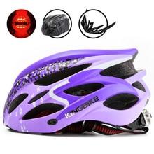 BATFOX 2018 New Cycling Helmet Woman Mountain Road Bike Helmet Breathable Bicycle Helmet Ultralight Pink MTB