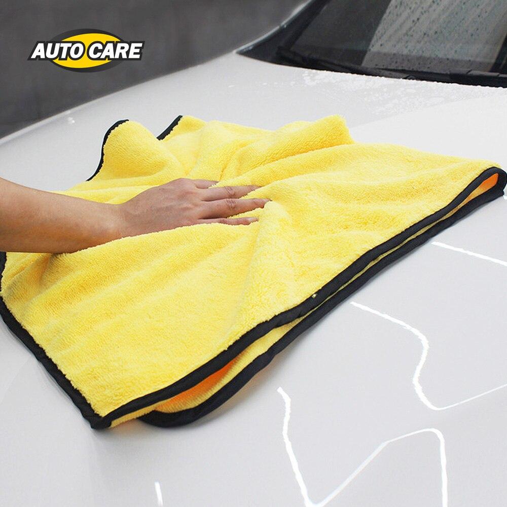 Súper absorbente lavado Toalla de microfibra de limpieza secado de tamaño Extra grande 92*56 cm secado de coches, toalla de cuidado