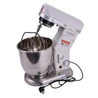 B10 misturador de alimentos  misturador de alimentos para uso doméstico com 10 litros  misturador planetário  batedor de ovos  máquina misturadora de massa 60-1000r/min aço inoxidável