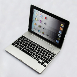 High Quality Bluetooth Keyboard Case for iPad 2 3 4 Laptop Design Protective Cover for iPad 4 3 2 Flip Stand Luxury Smart Case