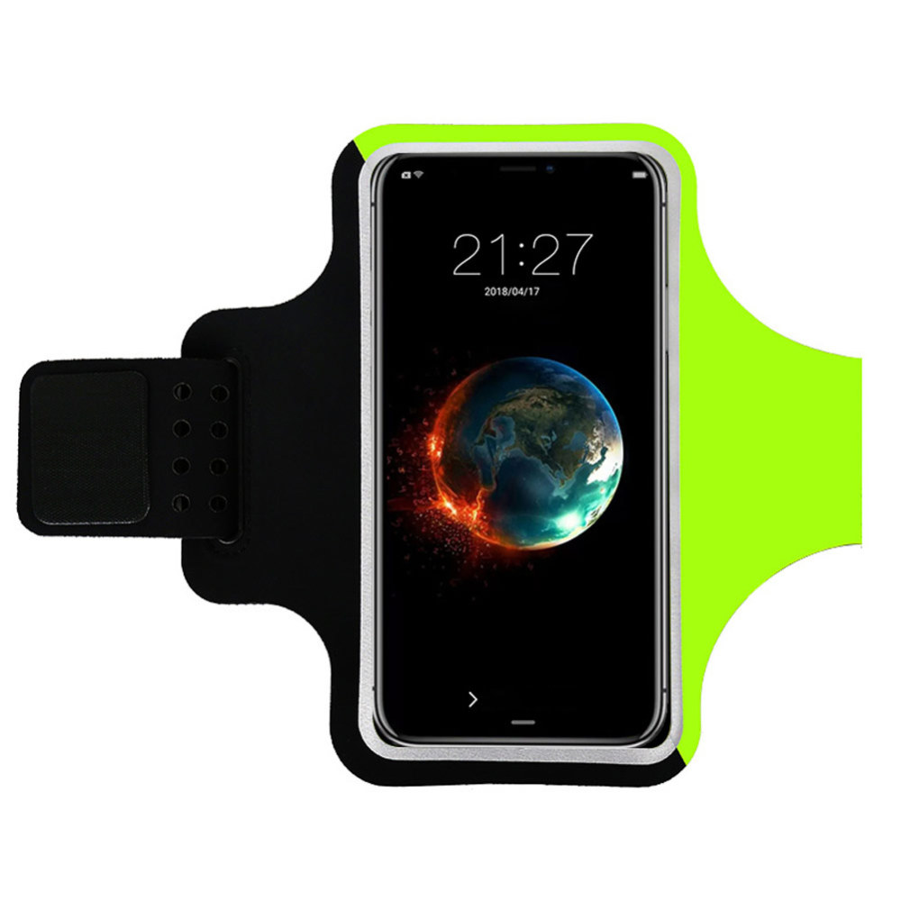 Wrist Bag Forearm Band Bike Mount Phone Holder Riding Wristband Pouch Bag Sports Workout Case For Smartphone 6 Inch