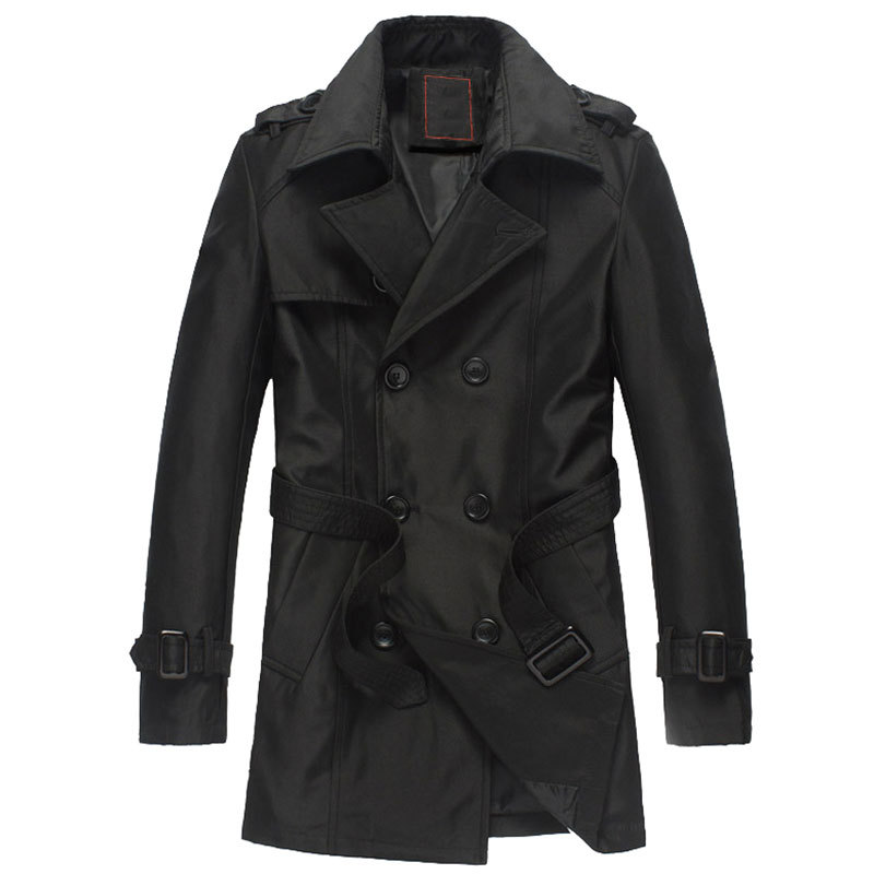 Online Buy Wholesale double breasted trench coat men from China