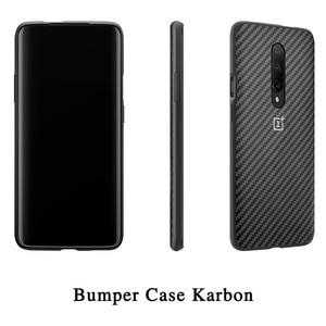 Image 3 - 100% الأصلي OnePlus 7 برو حالة OnePlus 7 برو الوفير حالة Karbon النايلون الرسمي الغطاء الواقي