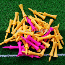 Free Shipping 100 pcs/bag Assorted 59mm Plastic Step Down Golf Tees Height Control, golf tee